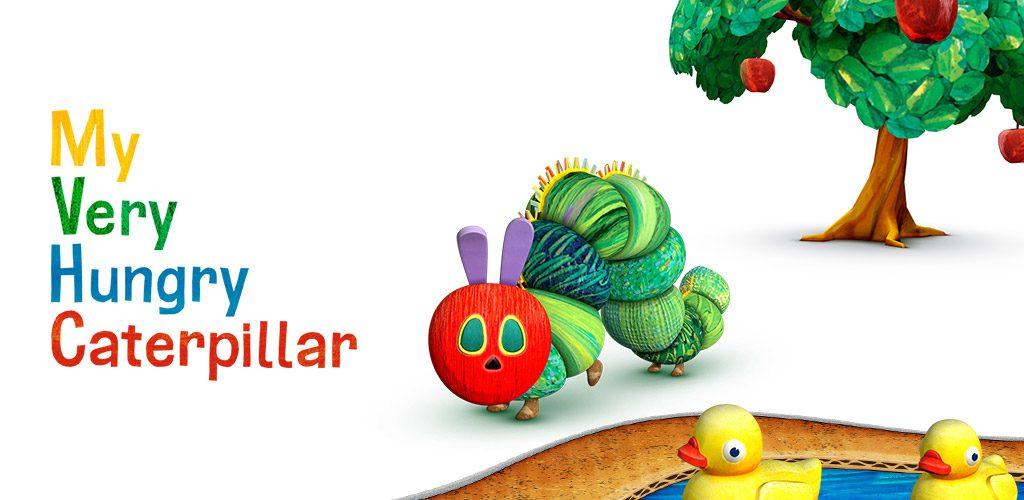 Oficiální obrázek hry My very Hungry Caterpillar