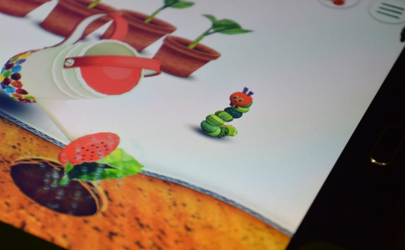 Recenze hry My Very Hungry Caterpillar