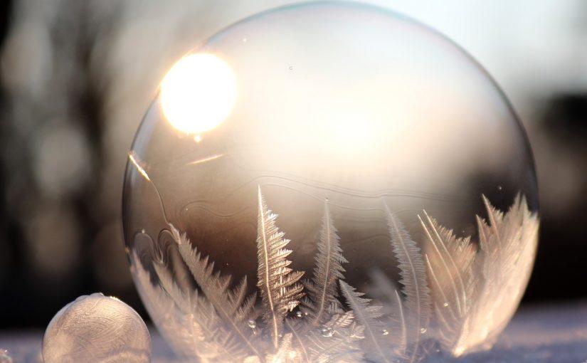 Jak vytvořit zmrzlé bubliny