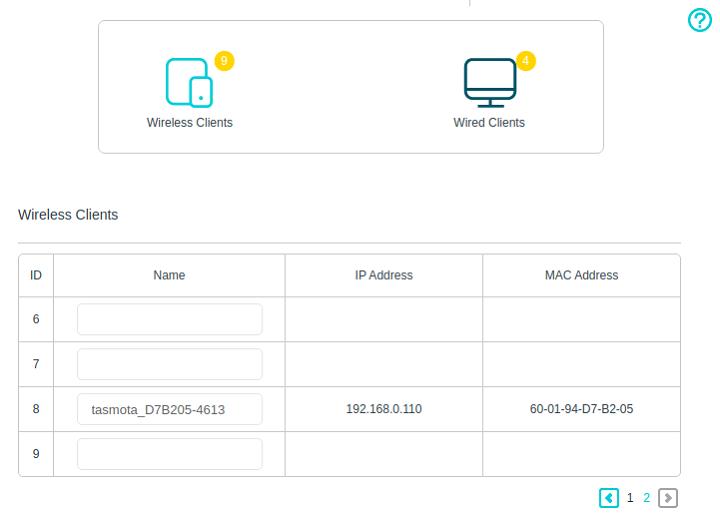 IP adresa v routeru