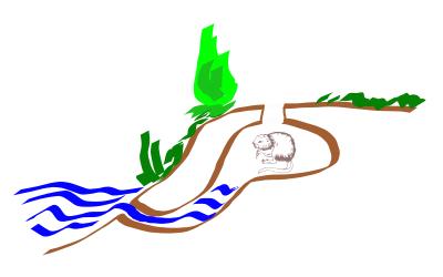 kresba propadlé ondatří nory