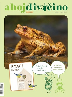 časopis pro děti - Ahoj divočino jaro 2021